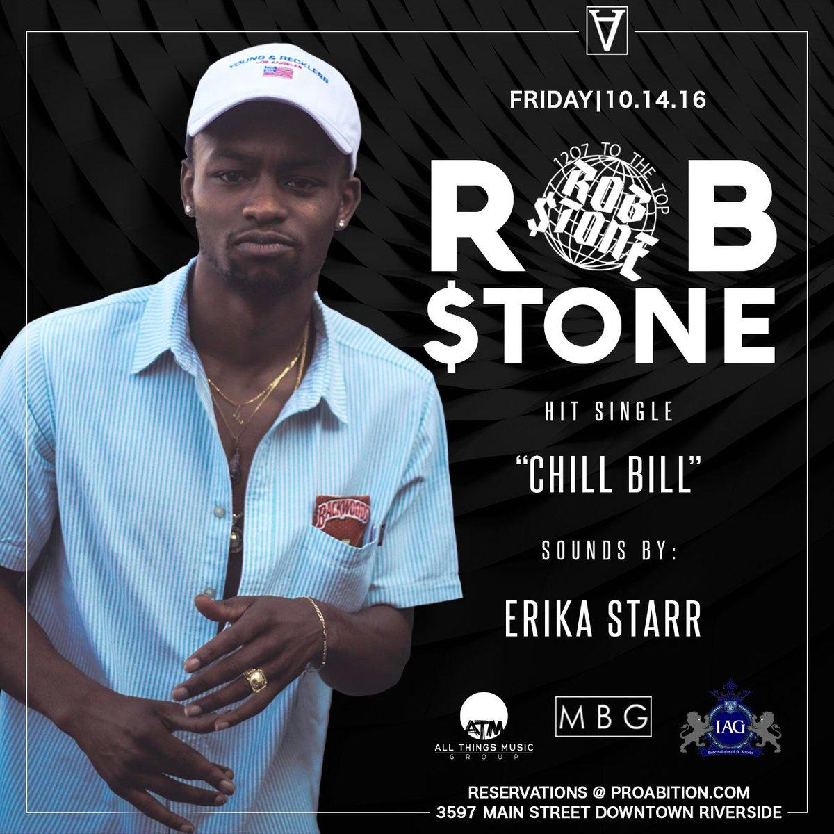 This Friday @youngrobstone makes his #Riverside debut #ChillBill #IAG https://t.co/k6xfb2LShA