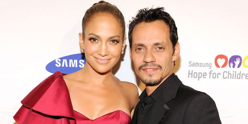Jennifer Lopez and Marc Anthony hit the recording studio—see the cute snap!