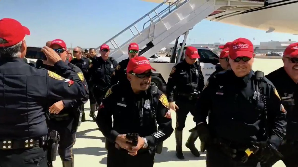 San Antonio police officers who wore Trump hats with their uniforms 'will be disciplined appropriately,' chief says… https://t.co/UiIUgPn3AU