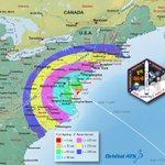 Nighttime Launch of Private Cargo Ship Visible Along US East Coast on Sunday