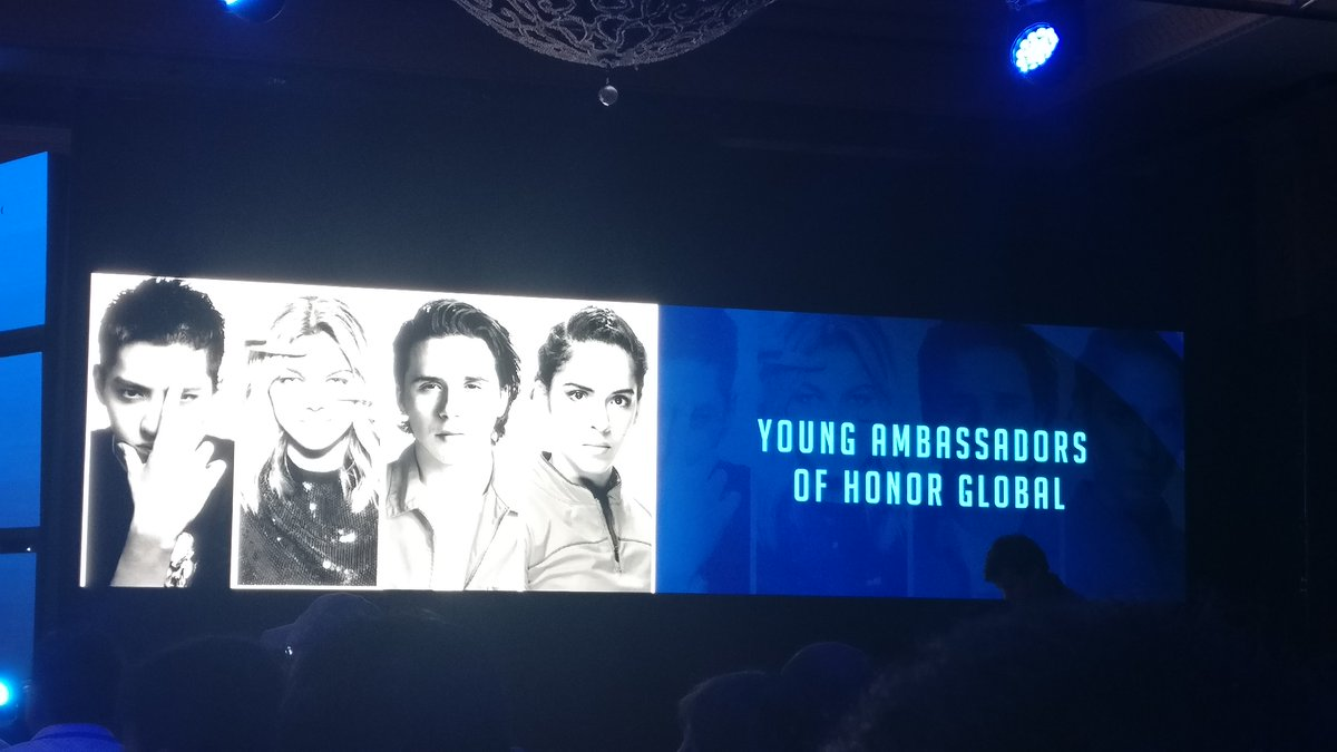 Young Ambassadors of Honor.  Can you guess their names? #doubletheactionwithhonor8 https://t.co/575UH58wWD