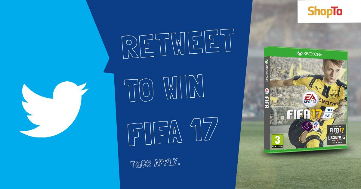 #RETWEET to #WIN a copy of #FIFA17 for your #XboxOne | https://t.co/leK80fYeXZ https://t.co/MBpSfhTvOf