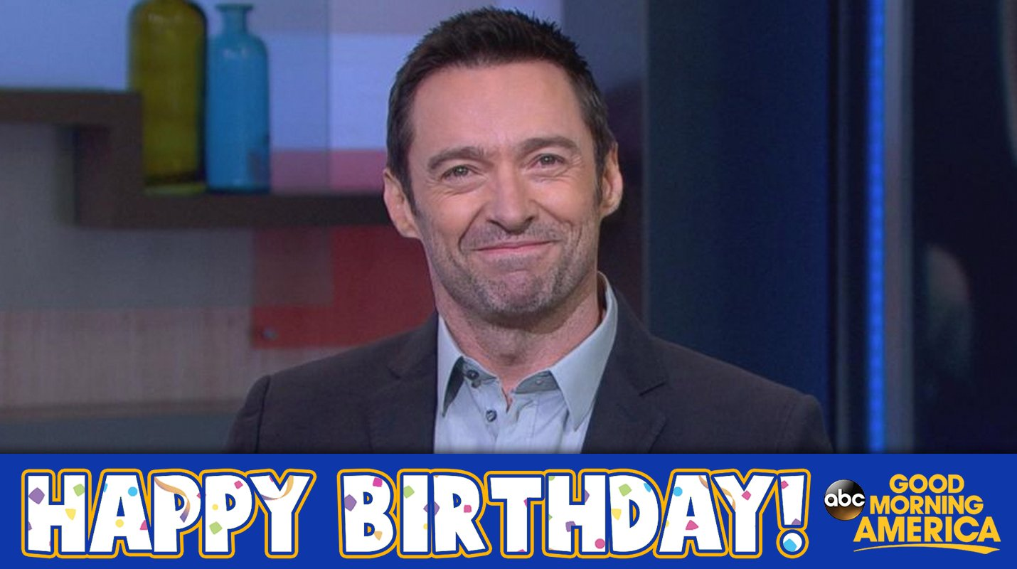 Happy Birthday to @RealHughJackman! �� �� https://t.co/37zeLhIEK3