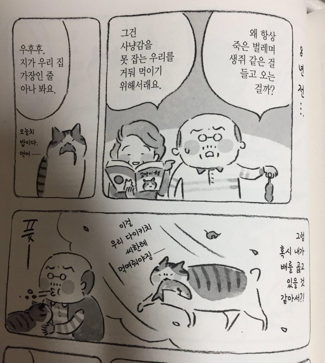하 시발 고양이와 할아버지 2권도 개꿀잼 ㅠㅠ https://t.co/tWxDQ0Rw0z