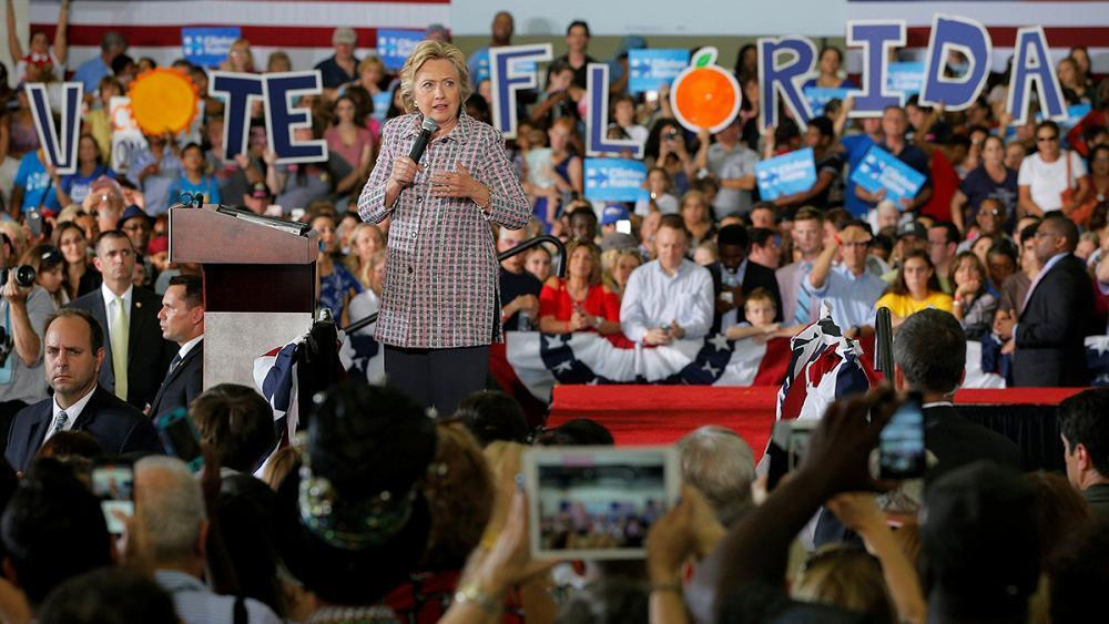USA election: battleground states look likely to swing it for Clinton