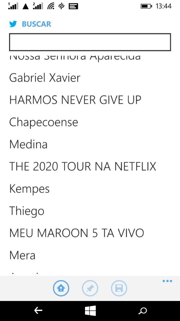 THE 2020 TOUR NA NETFLIX