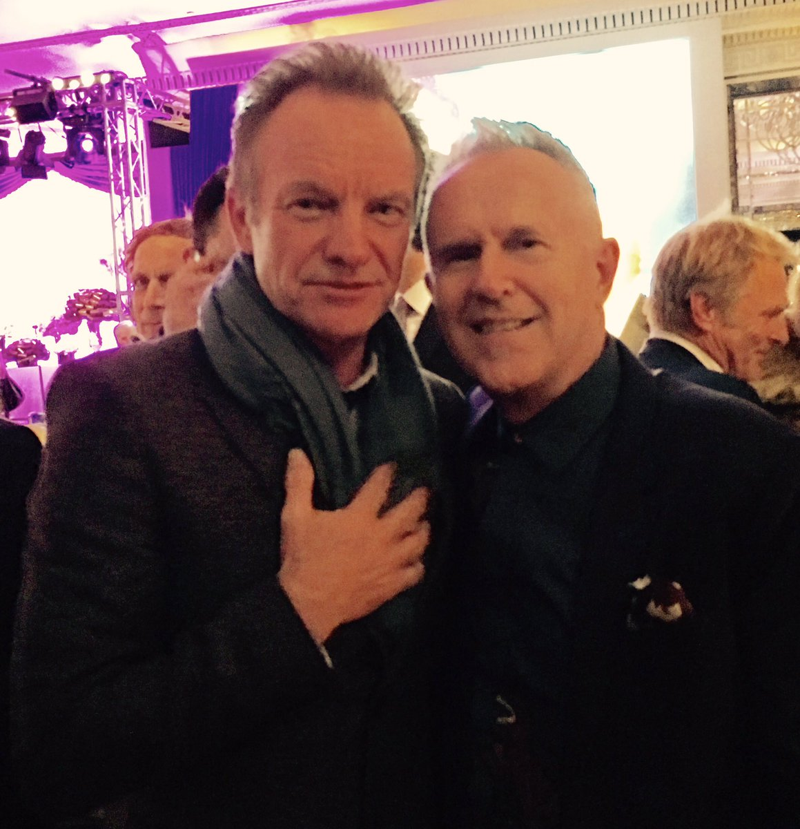 Sting and Hojo @bmi awards @OfficialSting https://t.co/eyC5tL0vhj