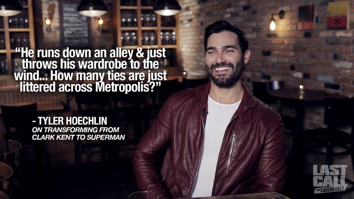 Check out @TheCWSupergirl's new #Superman @TylerL_Hoechlin on Last Call with @CarsonDaly, tonight on @nbc https://t.co/IGsFgqcaaK
