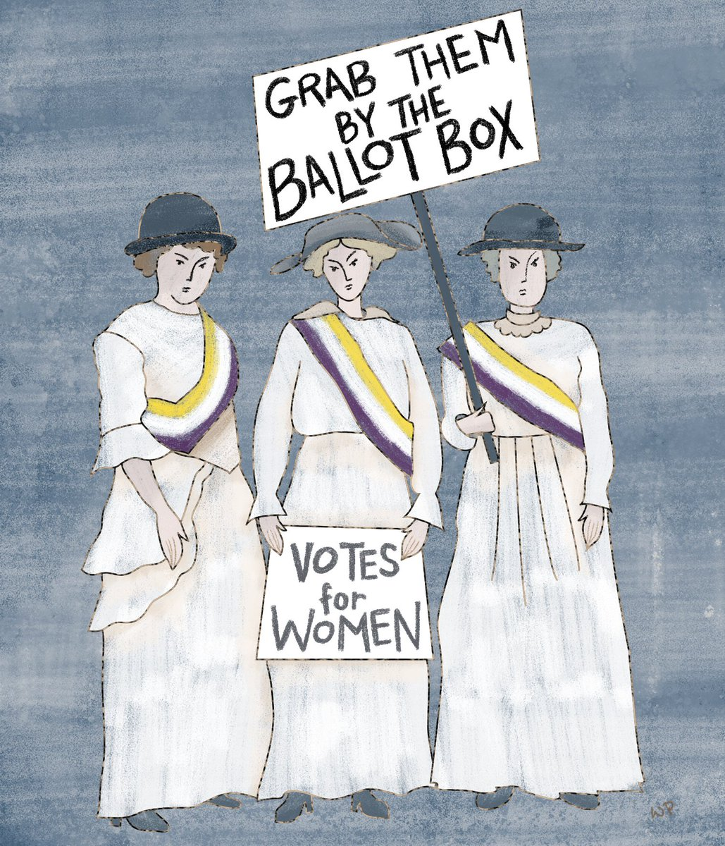 The suffragettes have something to say about #RepealThe19th. https://t.co/c0OmAKxS9a