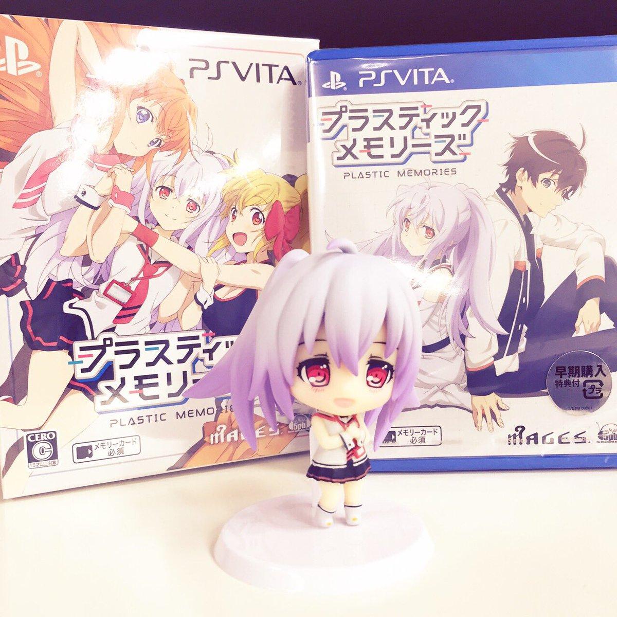 @5pbgames: PS Vita「プラスティック・メモリーズ」本日発売です!大切な人と いつかまた めぐり会えますよ