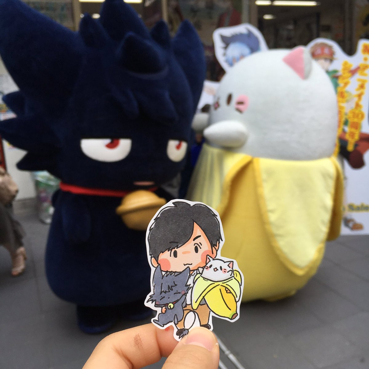 @78pikapri: 猫クロでほのぼのしたアニメを作って欲しい…あ、ばなにゃを見ろと?