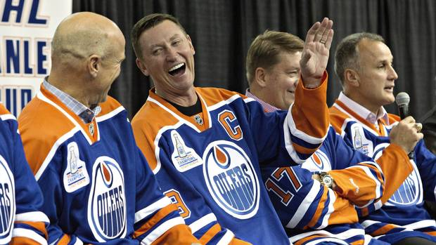 Wayne Gretzky named partner and VP of Oilers Entertainment Group From @Globe_Sports