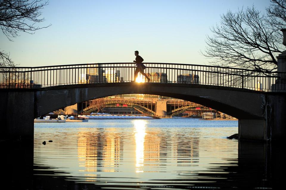 Bostonians top survey for active lifestyles
