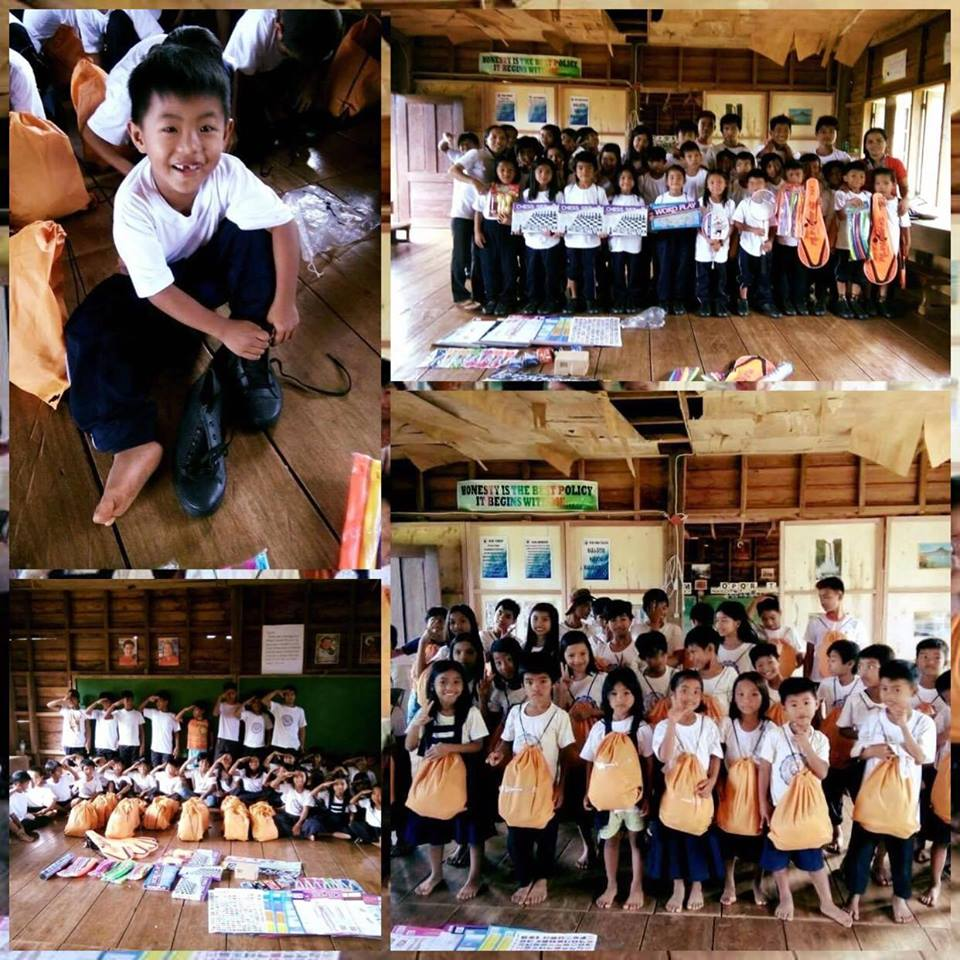 Bright smiles were seen among the students of Macabo Elementary School in Quirino province when they received kits from Sun Life. https://t.co/w73pA4Jzik