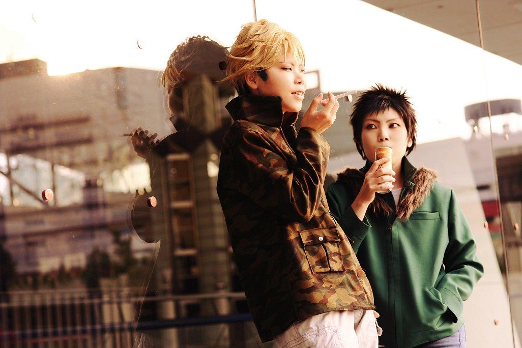 【ワールドトリガー】-諏訪&風間ー諏訪:鏡さん()風間:naoP:このたさん()