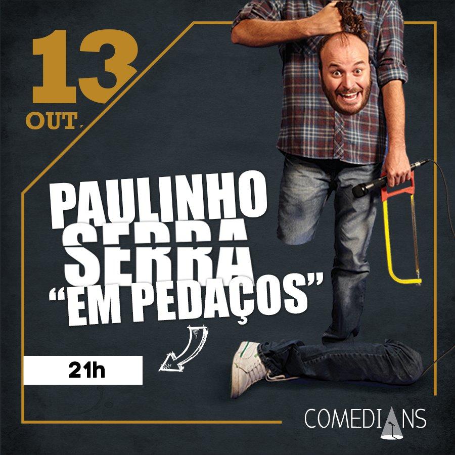 A quinta é do @PaulinhoSerra, às 21h! #temporadadesolos https://t.co/KNDncYqF93