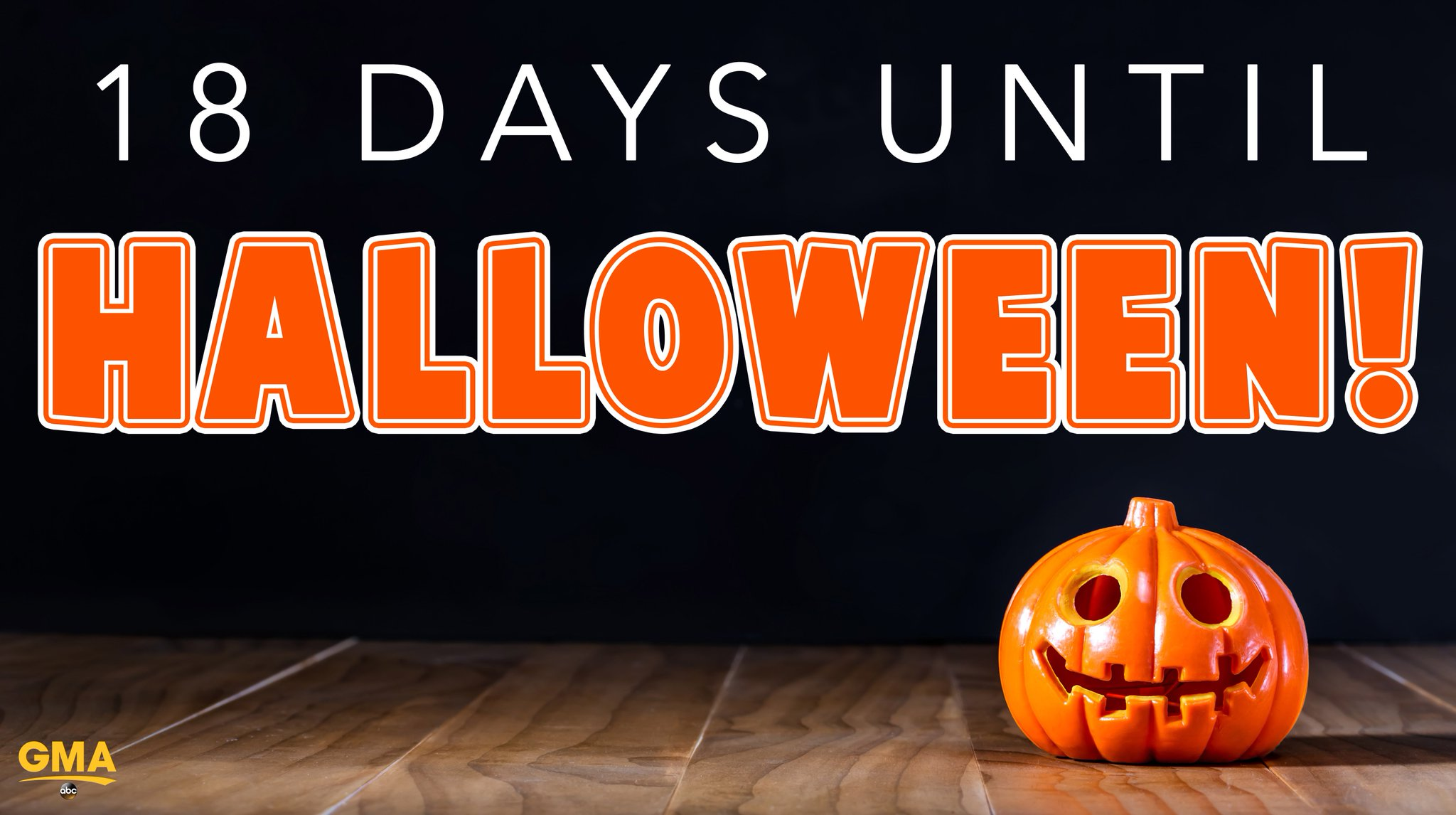 18 days until Halloween! �� https://t.co/McfJobuGHq
