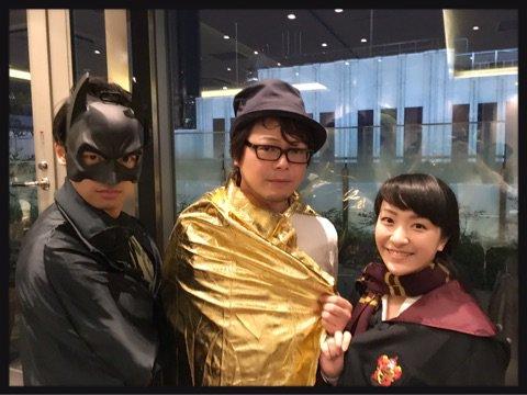 ブログを更新しました。 『打ち上げ★仮装パーティ』#植田佳奈#はんだくん#アメブロ
