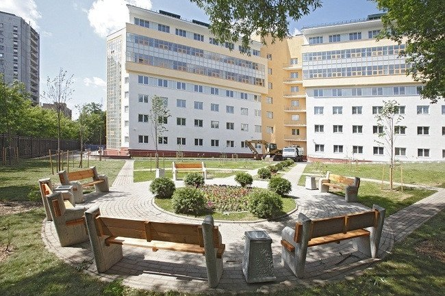 В детской клинической больнице 9 имени сперанского, расположенной в шмитовском проезде пресненского района цао