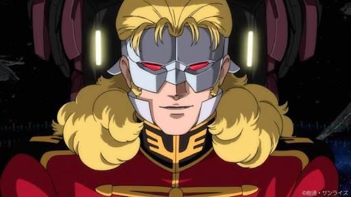 「機動戦士ガンダムUC」の登場人物。フル・フロンタルとは「丸裸」という意味。