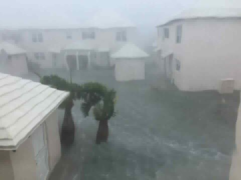 Pics from Bermuda as Nicole passes over the island. Kim McAllen's images show flooding and wind damage. #11Alive https://t.co/n0IJ2sYwIw