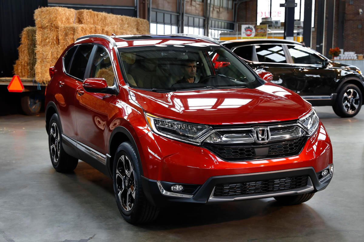 The new family car: Honda revamps small SUV