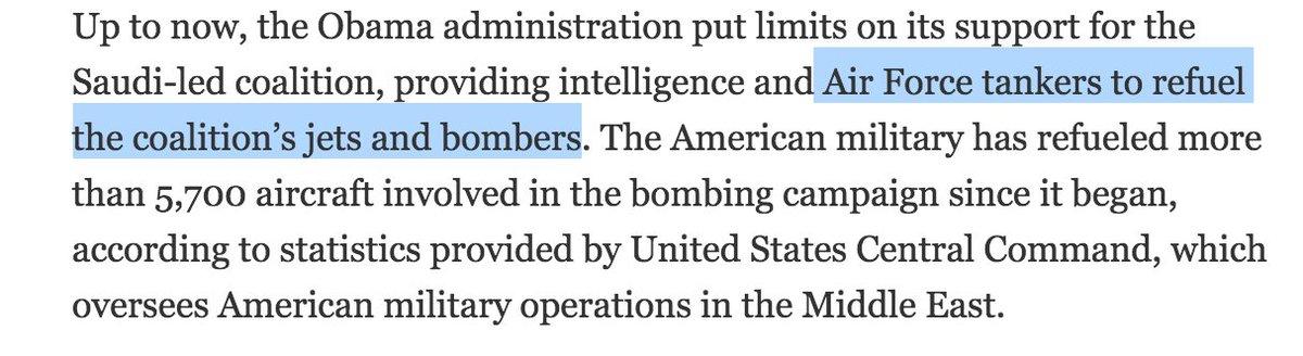 So the U.S. is literally fueling Saudi Arabia's horrific bombing in Yemen: https://t.co/6bhfUvsNaB https://t.co/o1UV5tsVr3