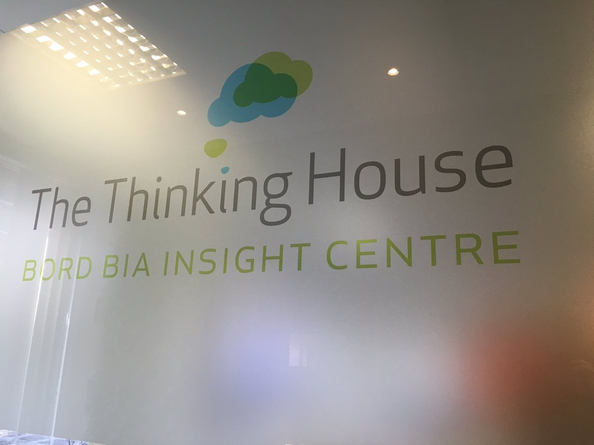 The Thinking House @Bordbia - a cutting edge facility for food entrepreneurs. Unbelievably cool. Amazing resource https://t.co/CDaNpAIFya