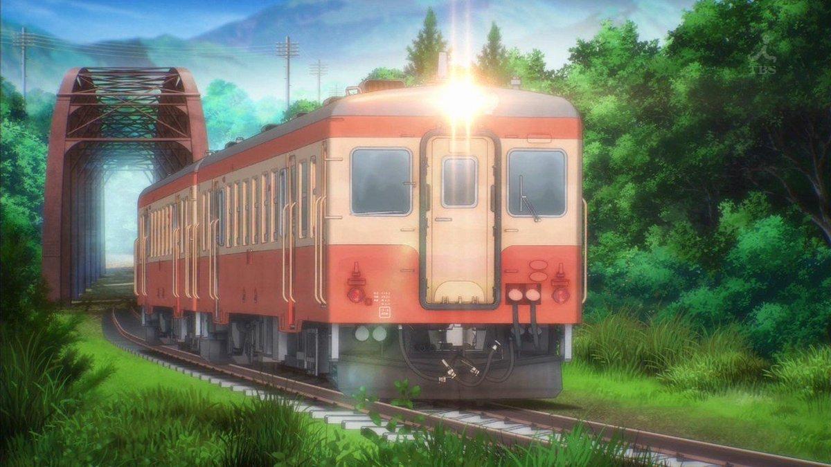 花陽「凛ちゃん、この車両な~んだ?」凛「わ~い、キハ52系だにゃ~♪凛は国鉄色の電車、だーい好きにゃ♪特にキハ52系とキ