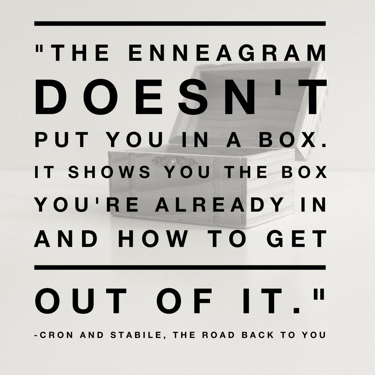 #theroadbacktoyou #enneagram https://t.co/KauwR47s7k
