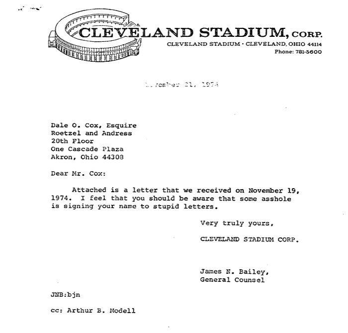 Never forget the greatest lawyer letter ever. https://t.co/1VB2VlTj8Y