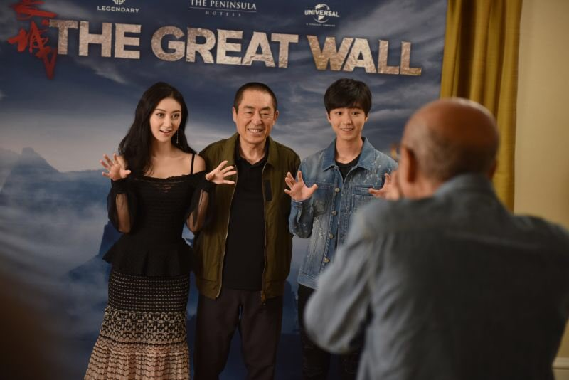RT @JingTian: #ThrowbackThursday to being in NYC for #NYCC! @thegreatwall is in theaters Feb 17! #TBT #TheGreatWall https://t.co/sGGJPfbZYr