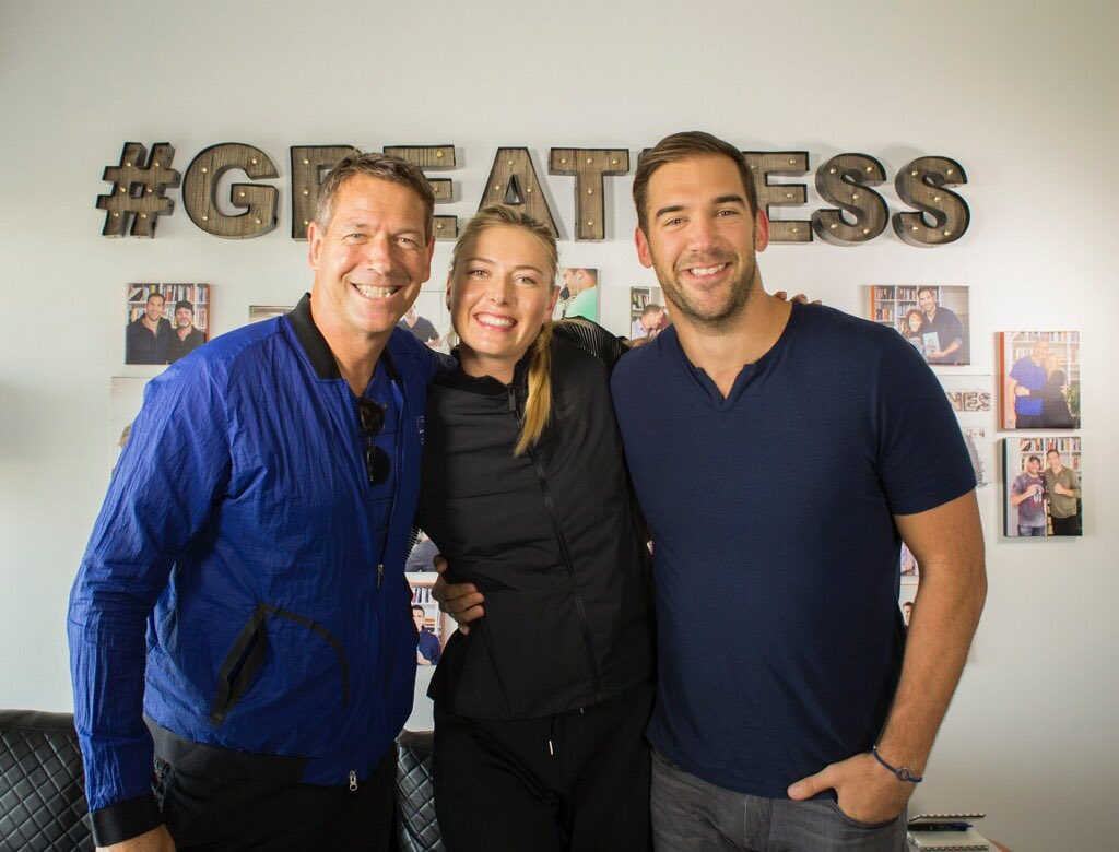 Spent the afternoon with my friend @LewisHowes recording for his podcast. Airs next week. https://t.co/7nJ1GHYaHy