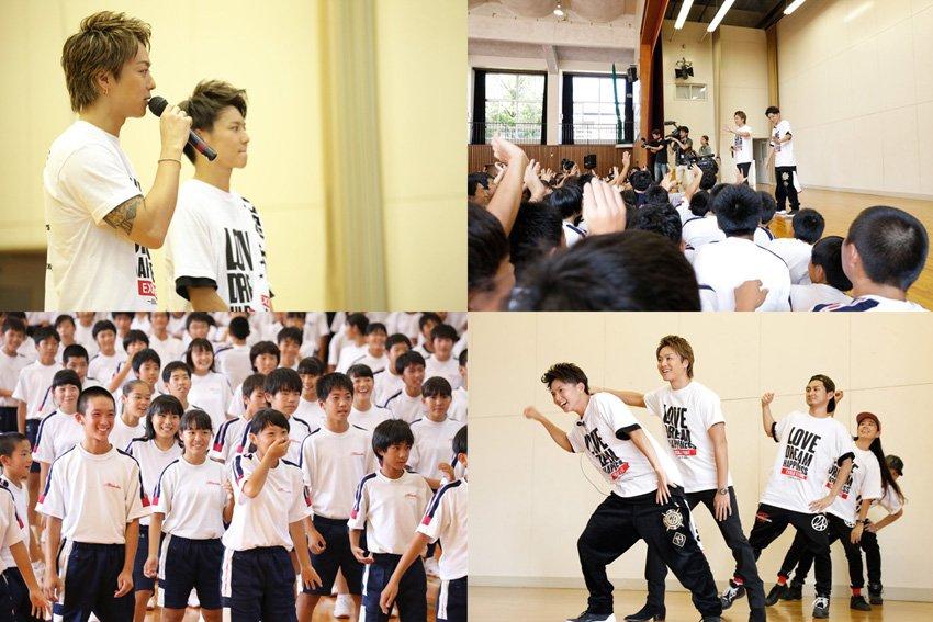 【夢の課外授業】EXILE TAKAHIRO先輩とコラボに中学生大喜び|TOKYO HEADLINE  https://t.co/2lDiJ8l3YI #EXILE #TAKAHIRO #佐藤大樹 https://t.co/i0oGHR2ErL