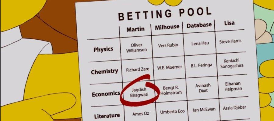 Milhouse adivinó el Premio Nobel de Economía ¡hace 6 años! en #LosSimpson https://t.co/erBBP7xDYN https://t.co/uS5Z1eq9rN