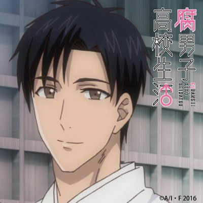 【Twitterアイコン配布!!】本日はアニメ「腐男子高校生活」DVD・Blu-rayの発売日!!発売を記念して圭一・レ