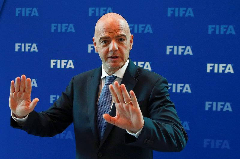 Europe can only bid for 2026 World Cup as standby: FIFA