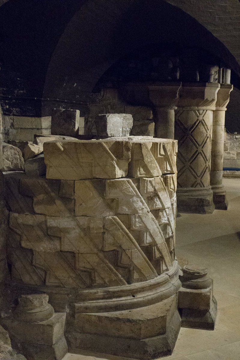 Deep down within the undercroft at York Minster are the remains of the Norman church #architecture https://t.co/bNtEETmjJi