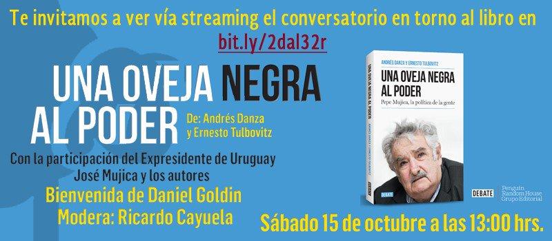 #RecuerdaQue podrás seguir el diálogo con Pepe Mujica en el siguiente enlace https://t.co/Tm9FlQv439 https://t.co/UfNgWMdkZj
