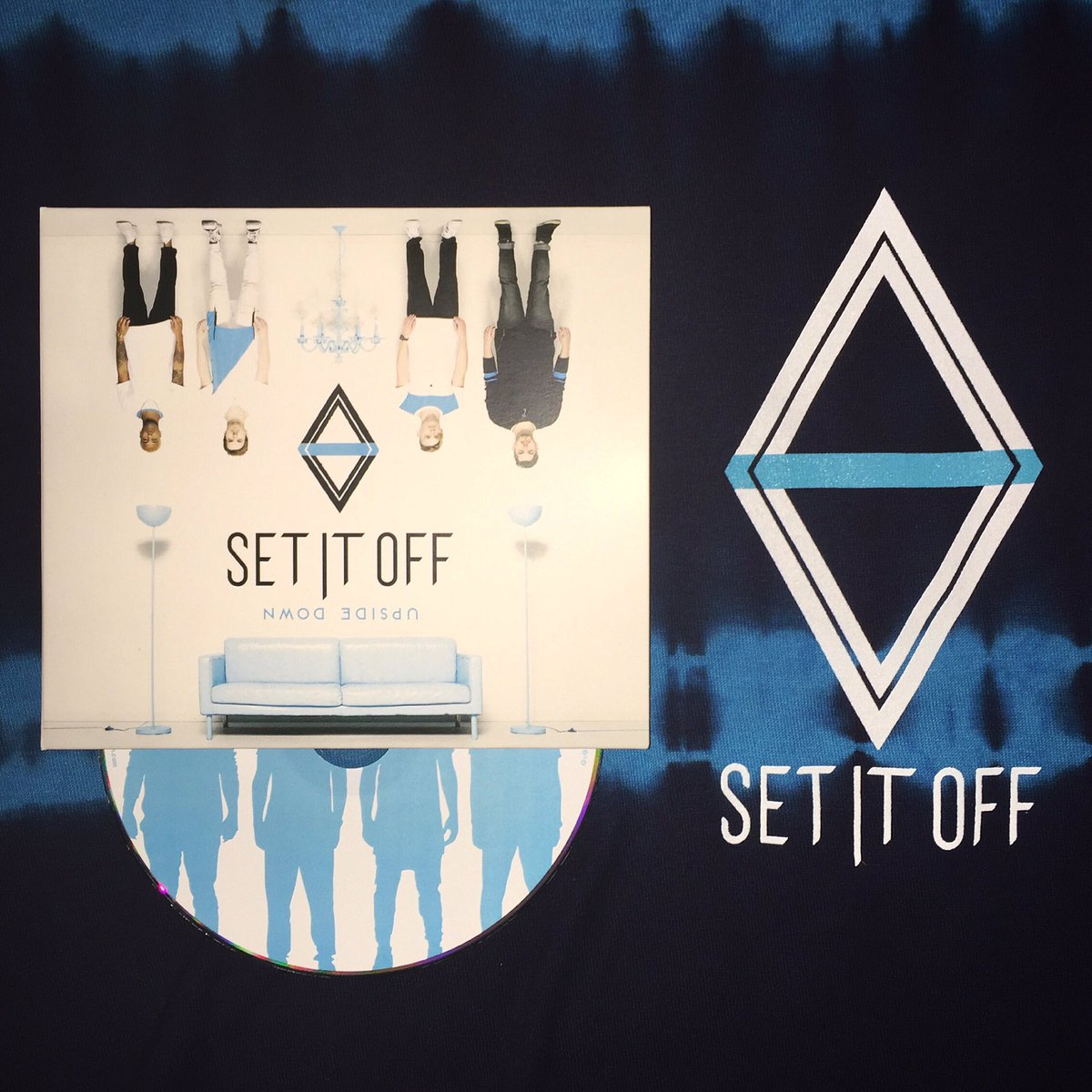 Don't mind me, I'm just waiting for @SetItOff to tour the UK with Upside Down