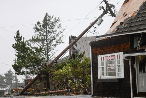 Tornadoes tear through Oregon as Pacific Northwest braces for more extreme weather