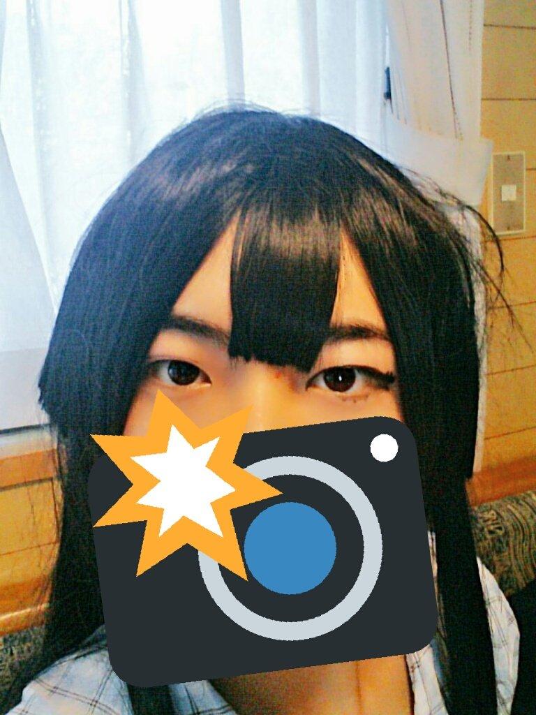 暇だから櫻子さんメイクの練習してみた!!もっとガッツリなつり目でもいいのかなぁ…