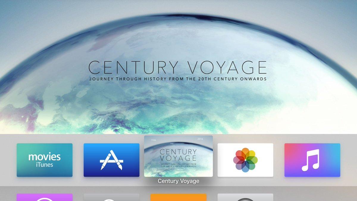 「二十世紀ボヤージ」AppleTV バージョンをリリースしました! https://t.co/wVhu1vEoND