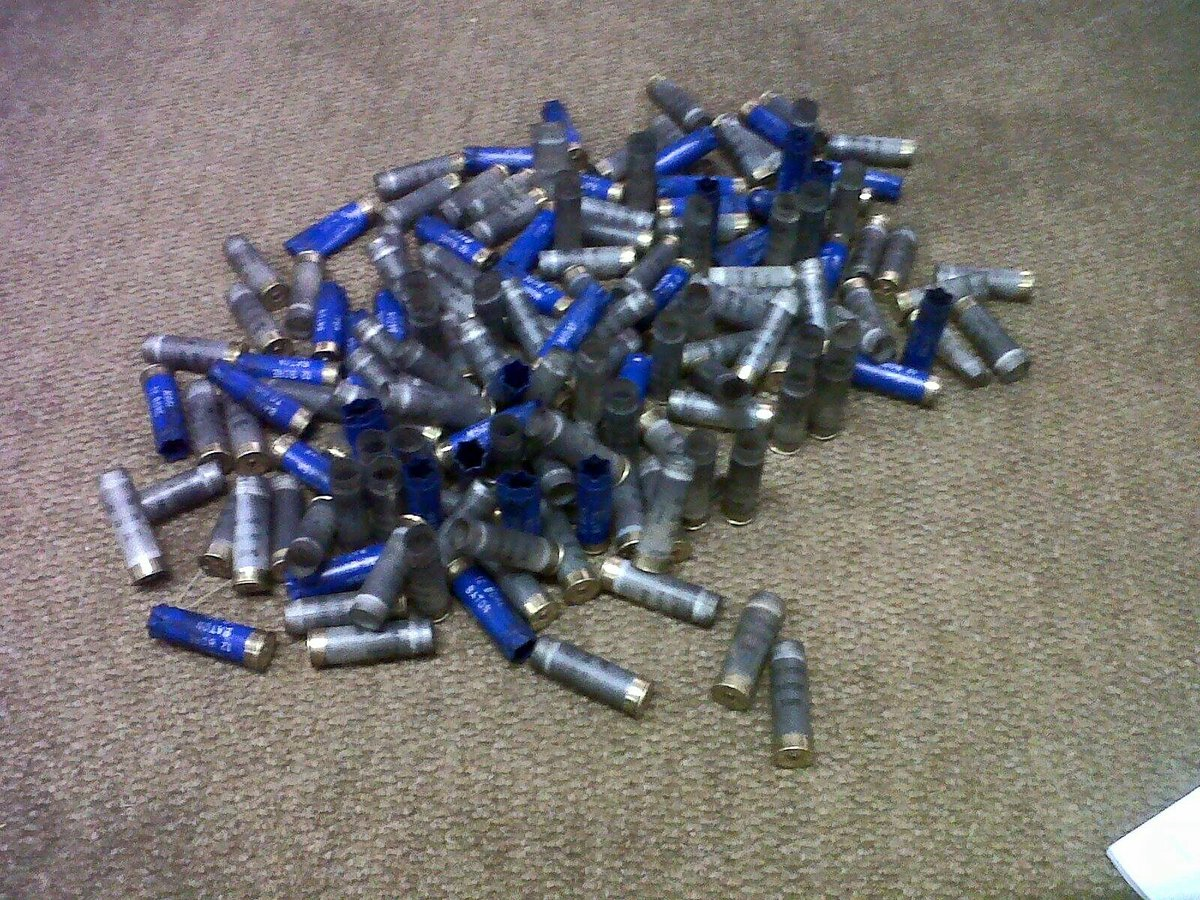 Bullets shot at Wits Res @2016_DWH last night. We're chatting to one of the residents in a bit. #WeekendsOnTheEdge https://t.co/HmH8MoNpX8