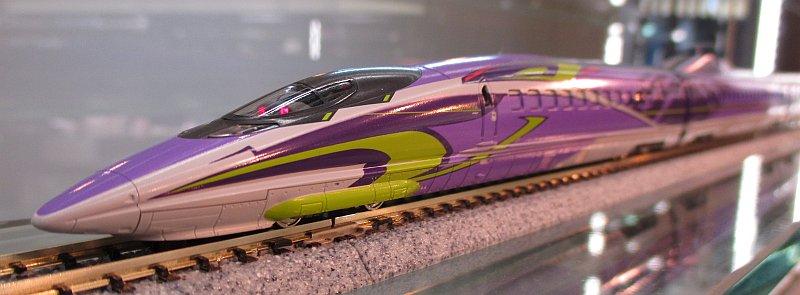 """【模型はいいねぇ、模型は心を潤してくれる。】KATO京都駅店では、""""500系新幹線「500 TYPE EVA」エヴァンゲ"""