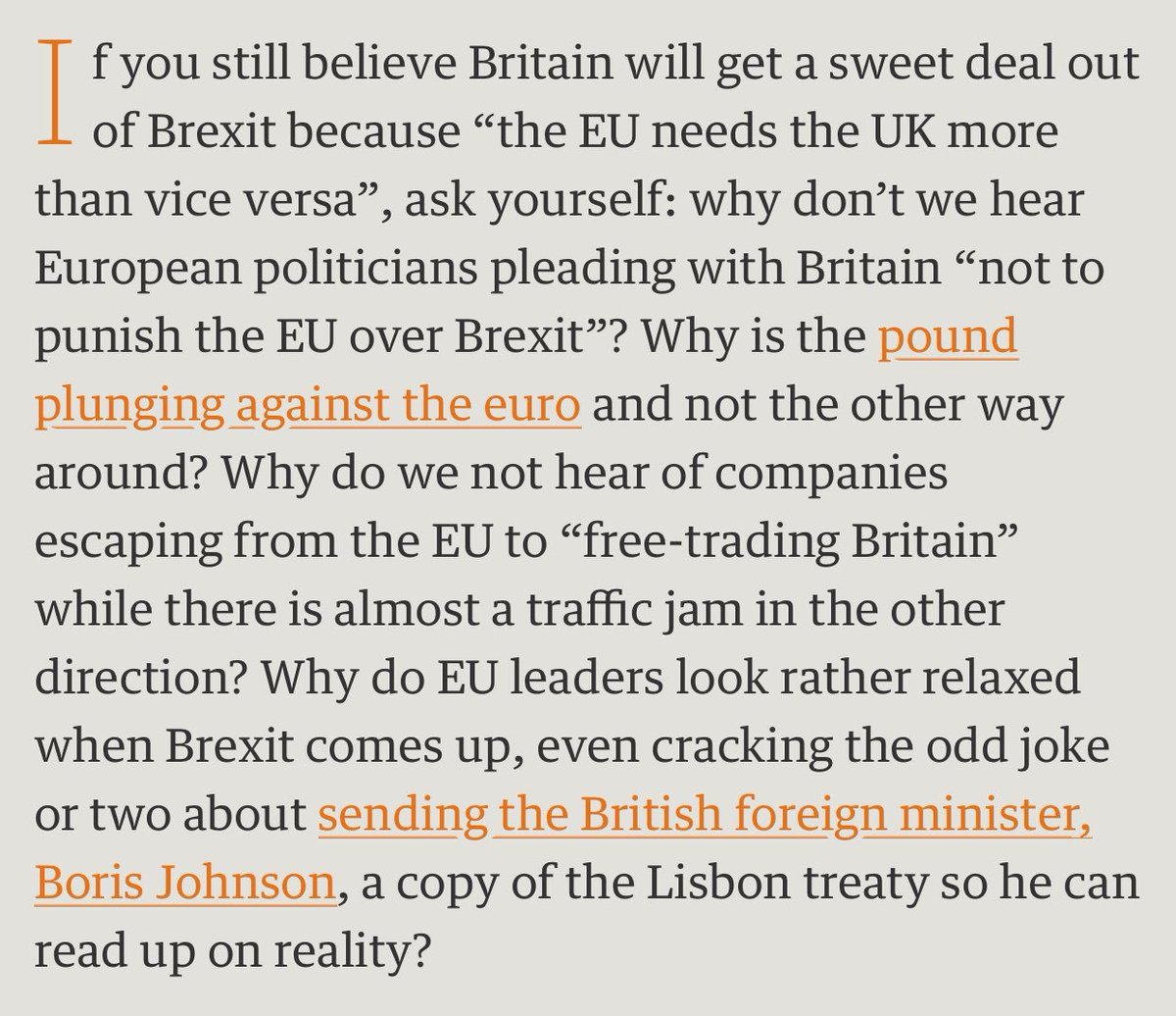 """""""They need us more than we need them"""" says the Brexit crowd. Er, no. https://t.co/Z95uac16jY https://t.co/MF7wqqJ5vH"""