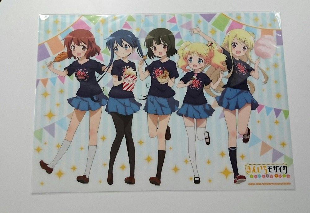 「きんいろモザイク Pretty Days」アニメイト・ゲーマーズ限定グッズ付前売券は10月20日から発売です!5人が楽