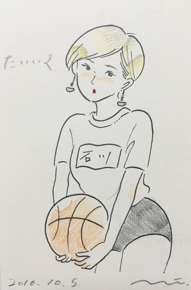 レトロでセクシーな女の子を描く、イラストレーターたなかみさきの個展「たいいく」開催 , scoopnest.com