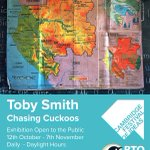Chasing #Cuckoo Exhibition open all weekend @CCI_Cambridge @camideasfest - @_BTO #photography by @tobysmithphoto