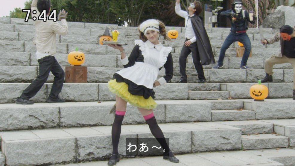 近年屈指の高さを誇るレオの女装 #nitiasa #zyuohger